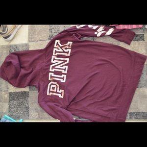 Brand new PINK Victoria's Secret varsity hoodie